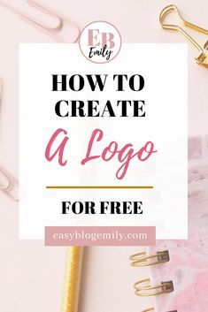 Want to know how to create a logo for free? Check out this step by step tutorial, to learn how to make a professional looking logo using Canva. Make Your Own Logo, How To Make Logo, Create A Logo, Logo Site, Blog Logo, Branding Your Business, Business Logo, Business Tips, Online Business
