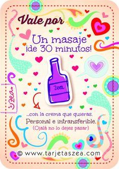Vale por un masaje ¡de 30 minutos! …con la crema que quieras. Personal e intransferible. (Ojalá no lo dejes pasar).