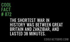 Cool Fact #872                                                                                                                                                                                 More