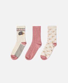 Hedgehog socks   OYSHO