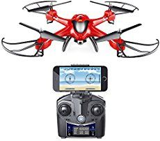 It's the ideal drone for beginners or for experienced pilots after a second UAV Holy Stone HS200 can be piloted via a smartphone or with controller