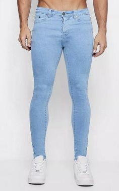 For purchasing, more info and photos, click the link below! Super Skinny Jeans, Clothes For Sale, Boohoo, Online Price, Brand New, Best Deals, Clothing, Pants, Blue