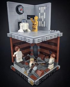 Lego might be keeping upcoming Star Wars Episode VIII Lego sets under covers– they actually had nothing to show for the upcoming movie at New york city Plaything Fair– yet that does not… Lego Minifigure Display, Lego Display, Harry Potter Advent Calendar, Lego Clones, Lego Design, Lego Worlds, Luigi, Lego Harry Potter, Lego Models