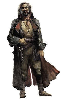 Captain Orzo Marn - Smuggler and Pirate Captain