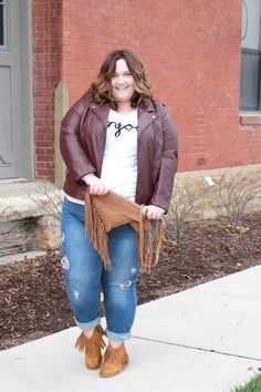 Casual Winter with Fullbeauty.com // fatgirlflow.com Curvy Fashion, Plus Size Fashion, Womens Fashion, Plus Size Looks, Trendy Girl, Plus Size Shopping, Beauty Full, Outfit Of The Day, Street Wear