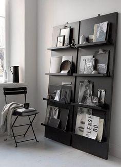 Zo leuk! Zet je favoriete boeken, tijdschriften en vondsten in de spotlight met dit handige zelfgemaakte tijdschriftenrek.