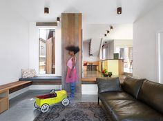 6 Built-In Lounges No.1 Jack and Jill House Melbourne
