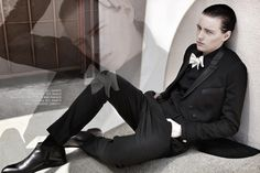 """""""I have too much imagination to just be one gender"""" - Erika Linder"""