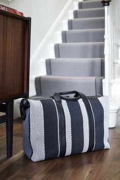 New Roger Oates Stripe Travel Bags - www.rogeroates.com/shop