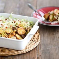 Cherry Potatoes Kapsalon 20 Min, Potato Salad, Oven, Cherry, Pizza, Potatoes, Ethnic Recipes, Food, Salads