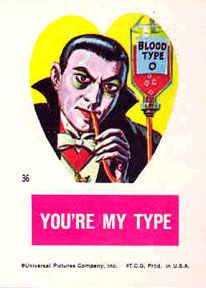 topps frankenstein valentines- link to images of each in the set!
