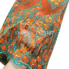 Orange Nigerian Lace African Lace Fabrics Fushia Green Yellow Blue Nigerian French Lace Fabric High Quality Beaded Tulle Fabric. Yesterday's price: US $96.00 (79.00 EUR). Today's price: US $40.32 (33.18 EUR). Discount: 58%.