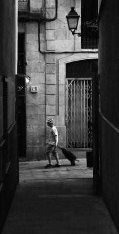 Barcelona, Black And White, Black White, Blanco Y Negro, Barcelona Spain, Black N White