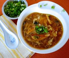 Our family's hot and sour soup recipe is from my grandpa, who ran a Chinese takeout joint after moving to the U. Still the best hot & sour soup I've had. Asian Recipes, Healthy Recipes, Ethnic Recipes, Asia Food, Soup Recipes, Cooking Recipes, Dinner Recipes, Hot And Sour Soup, Asian Soup