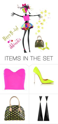 """Happy B-day, SHLOMTCI!"" by sharonnnnnn ❤ liked on Polyvore featuring картины"