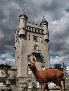 Oh deer! Balmoral Castle - Scotland