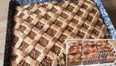 Jablečný třípatrový mrežovník | NejRecept.cz Picnic, Bread, Food, Crusts, Syrup, Bakken, Eten, Picnics, Picnic Foods