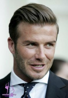 David Beckham Hairstyles 2013 Formal Short Straight Haircut 2013