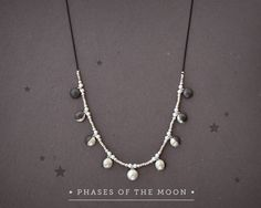 """urbanspellcraft: """" witchthetics: """" sosuperawesome: """" Moon phase jewelry -including custom moon phase- by AlejandraGiannoni on Etsy • So Super Awesome is also on Facebook, Twitter and Pinterest •..."""