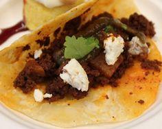 Mexican Goat Chorizo with Papas Tacos Recipe
