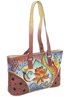 d8334a4743 Anuschka bag Cosmetic Pouch