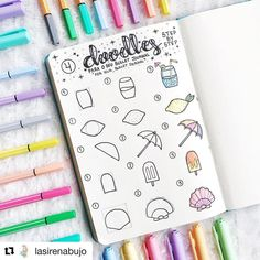 21 Surprisingly Simple Summer Doodle Art For Beginners Tutorials! 21 Surprisingly Simple Summer Doodle Art For Beginners Tutorials! – … 21 Surprisingly Simple Summer Doodle Art For Beginners Tutorials! Bullet Journal Art, Bullet Journal Ideas Pages, Bullet Journal Inspiration, Art Journal Pages, Journal Prompts, Bullet Journals, Doodle Art For Beginners, Easy Doodle Art, Doodle Doodle