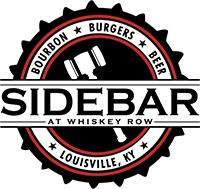 Sidebar, Bourbon Burgers and Beer At Whiskey Row - a stop on the Urban Bourbon Trail. Try the Ambulance Chaser burger, the zucchini fries, and sip on the Kentucky Maid.