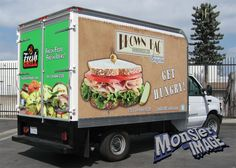 Truck wrap by Monster Image. www.monsterimg.com Getting Hungry, New Trucks, Grilling Recipes, Wraps, Fresh, Image, Food, Essen, Rap Music