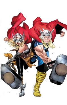 GENERATIONS: THE UNWORTHY THOR & THE MIGHTY THOR #1 VARIANT