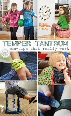 Temper Tantrums {Tips from moms who have been there}