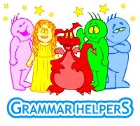 Learn grammar with these fun characters! Pick different levels and see which one you like best!