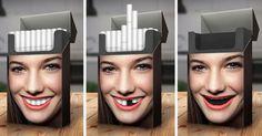 Campaña para dejar de fumar.