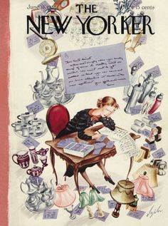 The New Yorker - Saturday, June 11, 1938 - Issue # 695 - Vol. 14 - N° 17 - Cover by : Constantin Alajalov