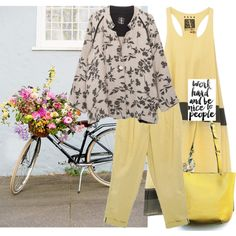 Yellow style by borsebyd on Polyvore featuring moda, yellow, bags and BorsebyD