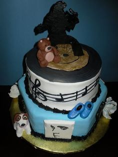 Elvis Bridal shower cake, 100% edible    Uploaded by Victor on Tuesday Jun 19 08:36:33 2012  Submitted into the July, 2012  Inkedibles Contest