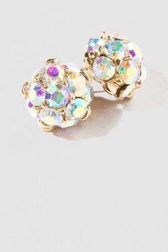 Wilton Crystal Stud Earrings