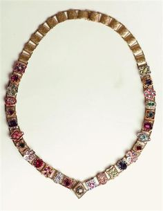 Victorian Trading Co.~BALMORAL VICTORIAN SLIDE NECKLACE