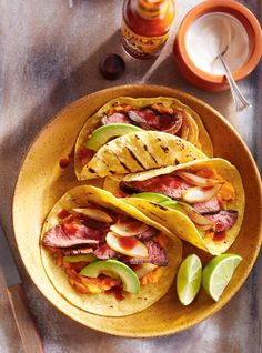 Looking for a taco with maximum flavour? Try this grilled beef recipe on the bbq this summer! Fun Easy Recipes, Easy Meals, Flap Steak, New Pressure Cooker, Ricardo Recipe, Prime Rib Roast, Grilled Beef, Braised Beef, Grilling