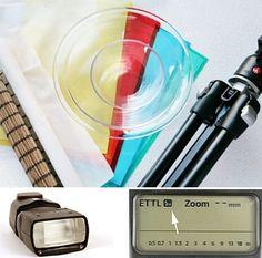 a part le flash externe, le matériel nécessaire est à la portée de tous.