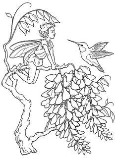 Fantasy Fargelegging for barn. Tegninger for utskrift og fargelegging nº 22