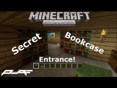 How to Make a Secret Bookcase Entrance in Minecraft! [Xbox] - YouTube
