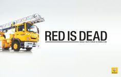 Renault F1: Red is Dead, Fire Truck gefunden auf www.adsoftheworld.com gepinned von der Hamburger Werbeagentur BlickeDeeler. Weitere Infos zu unserer FullService-Agentur gibt es auf www.blickedeeler.de