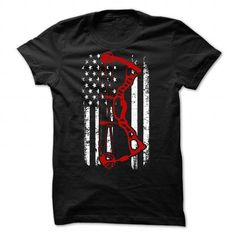 Awesome Archery Lovers Tee Shirts Gift for you or your family member and your friend:  American Archery Tee Shirts T-Shirts