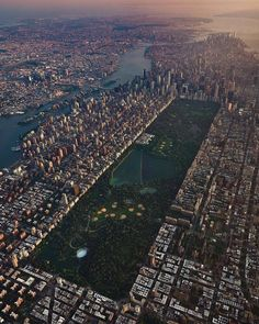 New York City from above by Joe - The Best Photos and Videos of New York City including the Statue of Liberty, Brooklyn Bridge, Central Park, Empire State Building, Chrysler Building and other popular New York places and attractions. Central Park, New York Central, Kindergarten Usa, New York From Above, City From Above, Photographie New York, Photo New York, World Of Wanderlust, New York City Travel