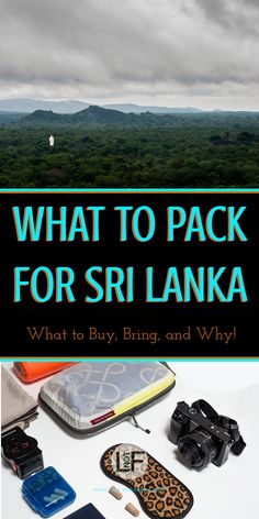 Packing for Sri Lanka can be complicated if you are not prepared. With this you will be prepared for all the weather and situations you could encounter! Travel Guides, Travel Tips, Travel Destinations, Packing List For Travel, Packing Lists, Bhutan, Best Places To Travel, Asia Travel, Beach Travel