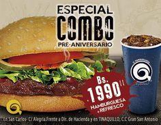 En nuestro Pre-aniversario te damos lo mejor. #Qhamburguesa Qué te parece? http://ift.tt/2ff8Fi4