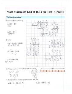 grade math assessment test printable was last modified: December 2019 by admin 4th Grade Math Test, Grade 1, Gadgets Électroniques, Math Assessment, Free Math, Education Quotes For Teachers, Math Worksheets, Math Resources, Kindergarten Math