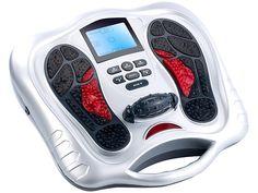 newgen medicals Fußreflexzonen Massagegerät mit Infrarot Tiefenwärme