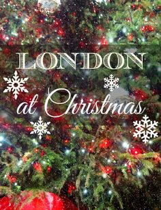 London at Christmas is stunning, where to see the lights, trees, ice rinks, fairs and the best shop windows. #familytravel