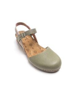 358f0ccfc8fa Art Shoes Pompei Sandals Green Art Shoes